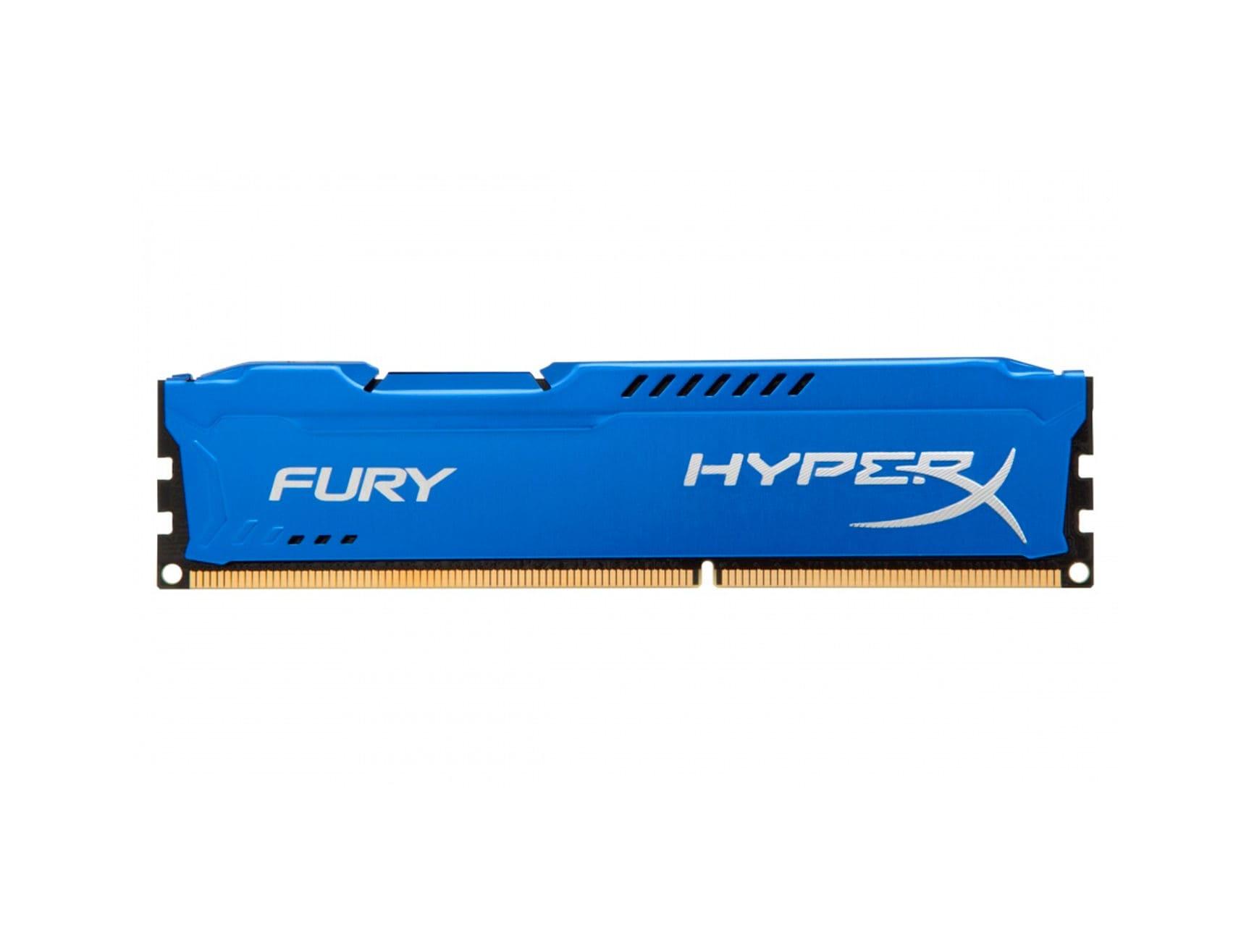 MEM. RAM HYPERX FURY DDR3 4GB/1600 ( HX316C10F/4 ) AZUL