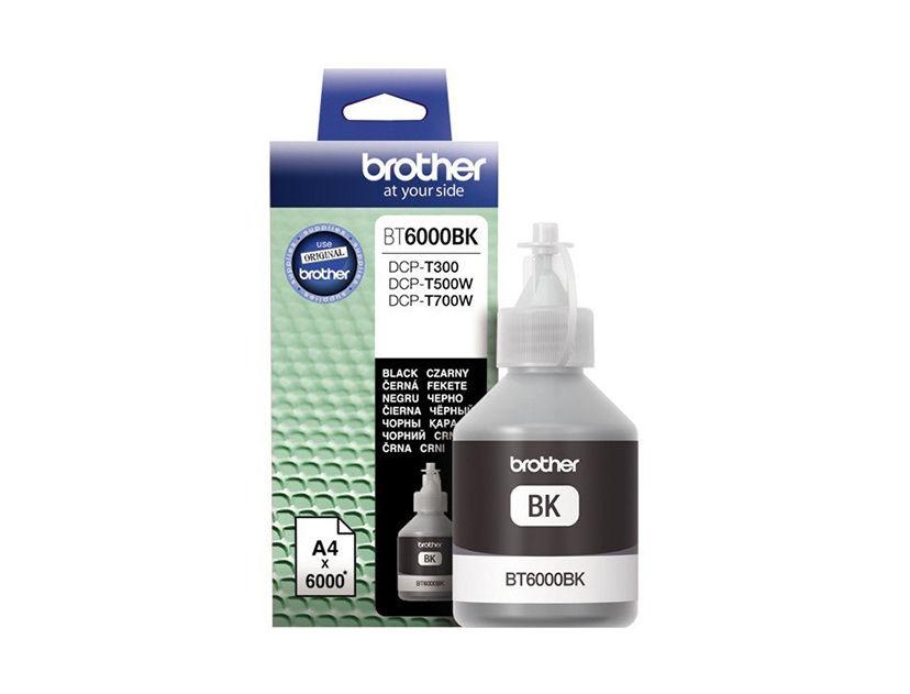 TINTA BROTHER 6001BK NEGRO ( BT6001BK ) T300 / T500W / T800W +