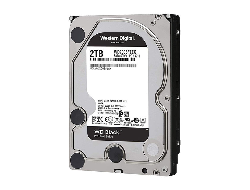 HDD  WESTER DIGITAL 2TB ( WD2003FZEX ) NEGRO | 64MB | 7200RPM