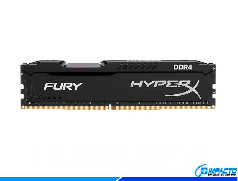 MEM. RAM HYPERX FURY DDR4 4GB/2400 ( HX424C15FB/4 ) NEGRO