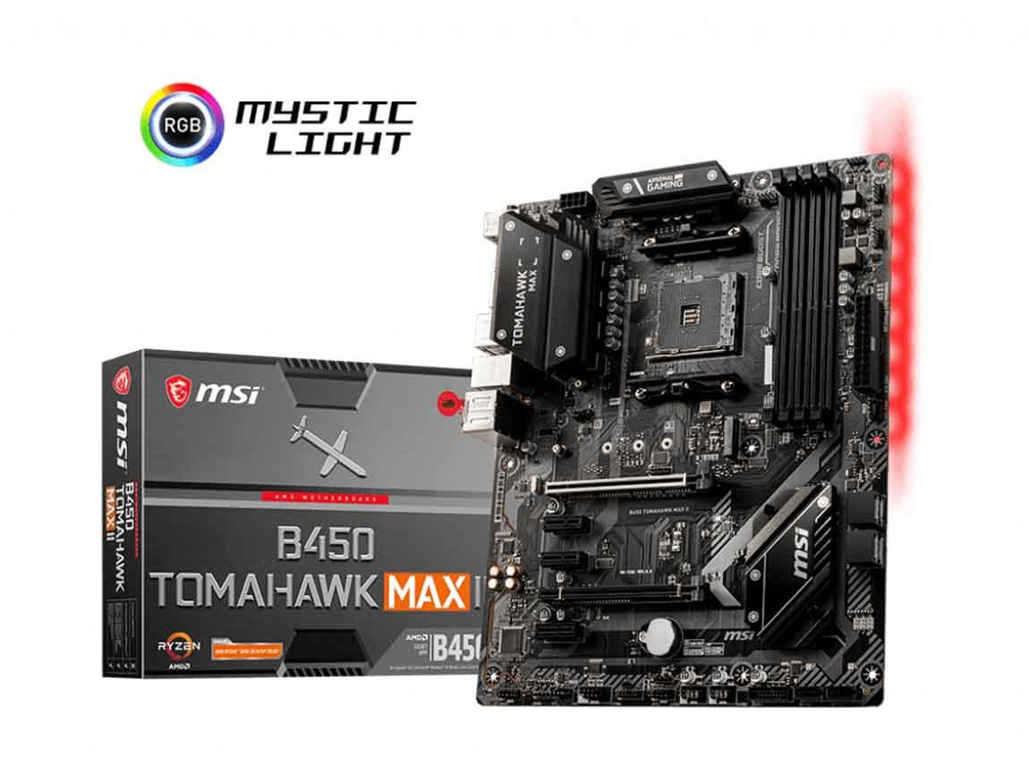 MB MSI B450 TOMAHAWK MAX II ( B450 TOMAHAWK MAX II ) AM4 | LED - RGB