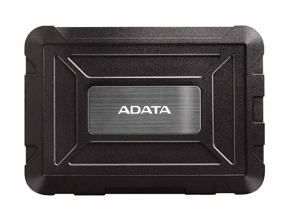"RACK PARA HDD EXTERNO DE HDD & SSD ADATA ED600 ( AED600-U31-CBK ) 2.5"" | NEGRO"