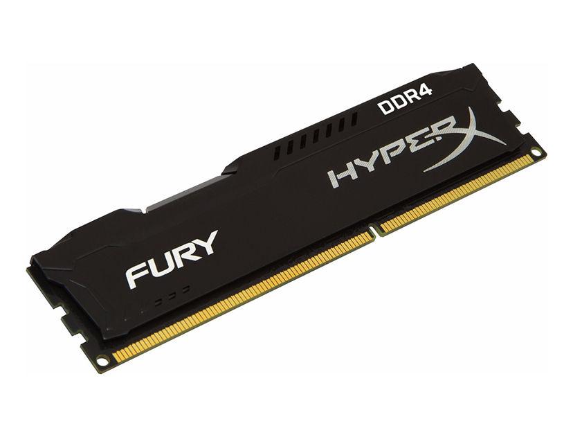 MEM. RAM HYPERX FURY DDR4 4GB/2666 ( HX426C15FB/4 ) NEGRO