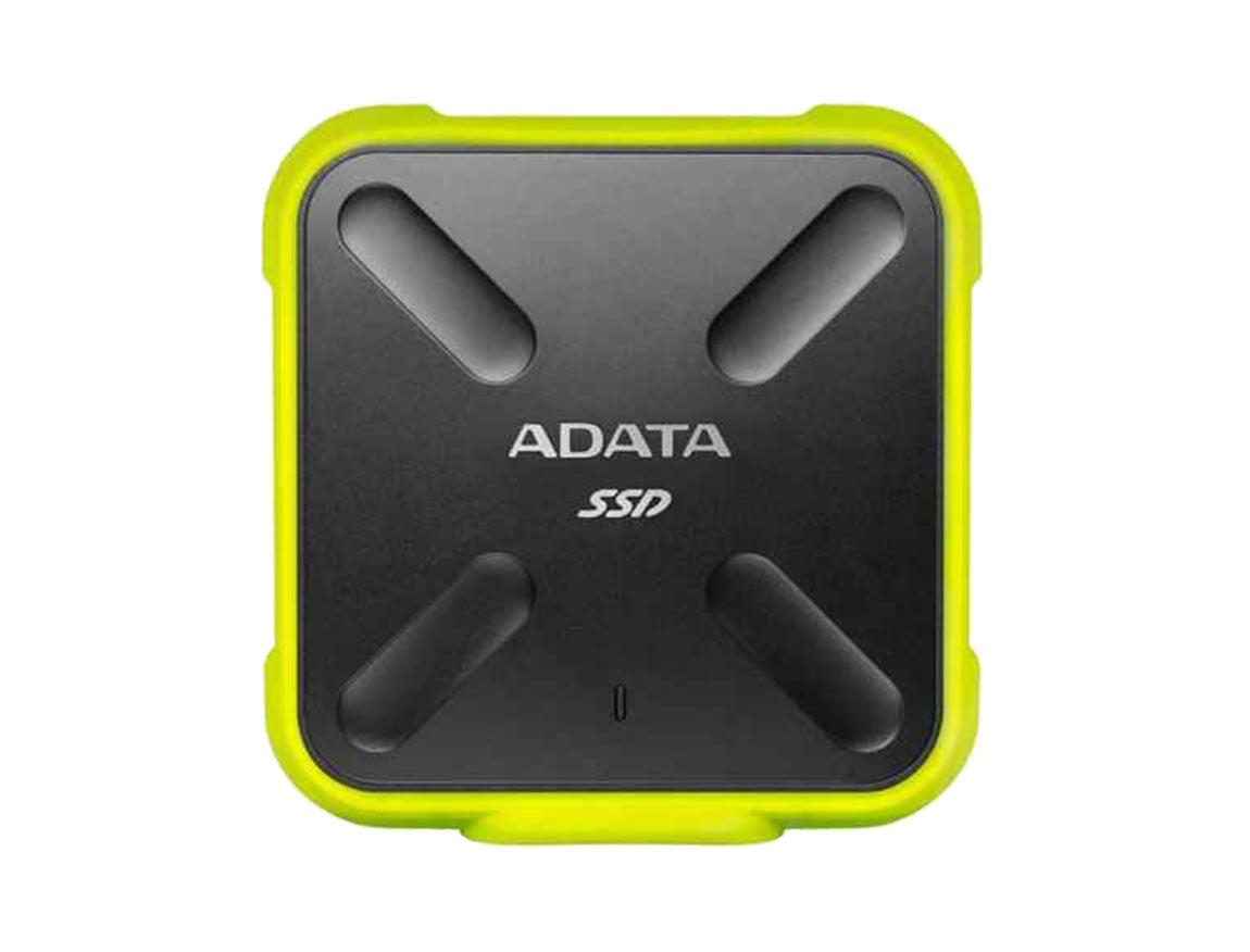 SSD EXTERNO SD700 ADATA 1TB ( ASD700-1TU31-CYL ) NEGRO C/ AMARILLO