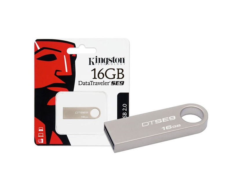 MEM. USB KINGSTON 16GB ( DTSE9H/16GBZ ) DATATRAVELER SE9