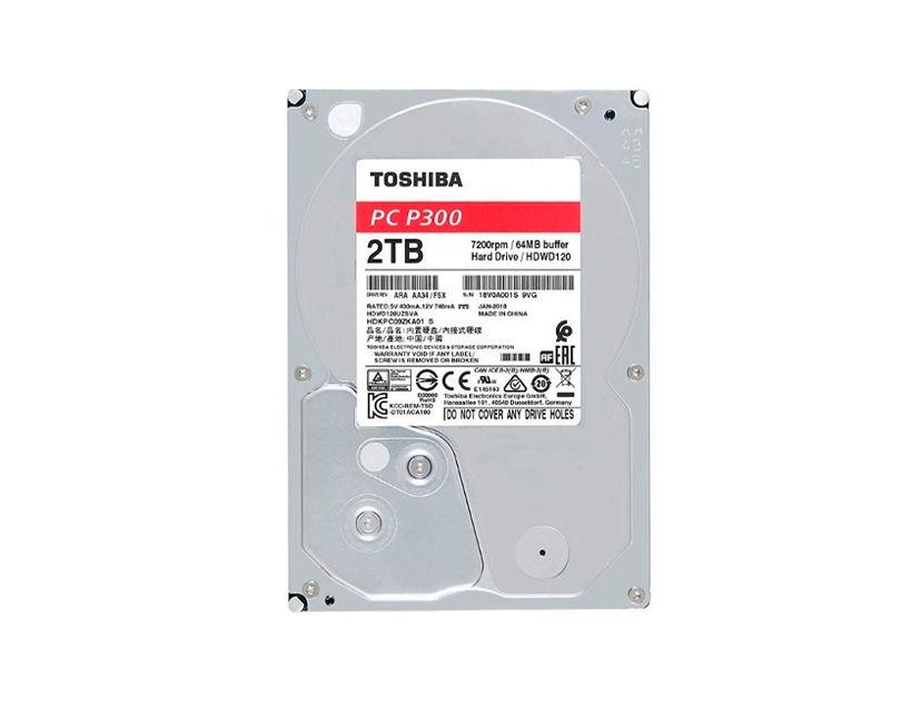 HDD  TOSHIBA 2TB ( HDWD120UZSVA ) 64MB | 7200RPM