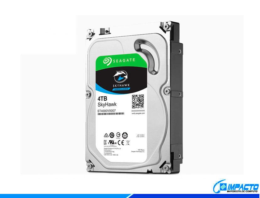HDD  SEAGATE 4TB ( ST4000VX007 ) AZUL | 64MB | 5900RPM | VIGILANCIA