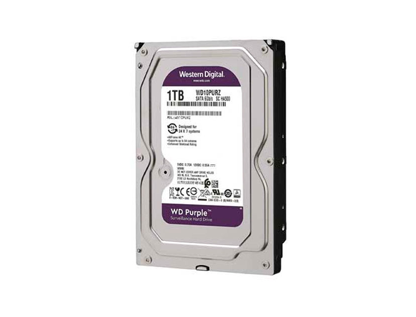 HDD  WESTER DIGITAL 1TB ( WD10PURZ ) PURPURA | 64MB | 5400RPM