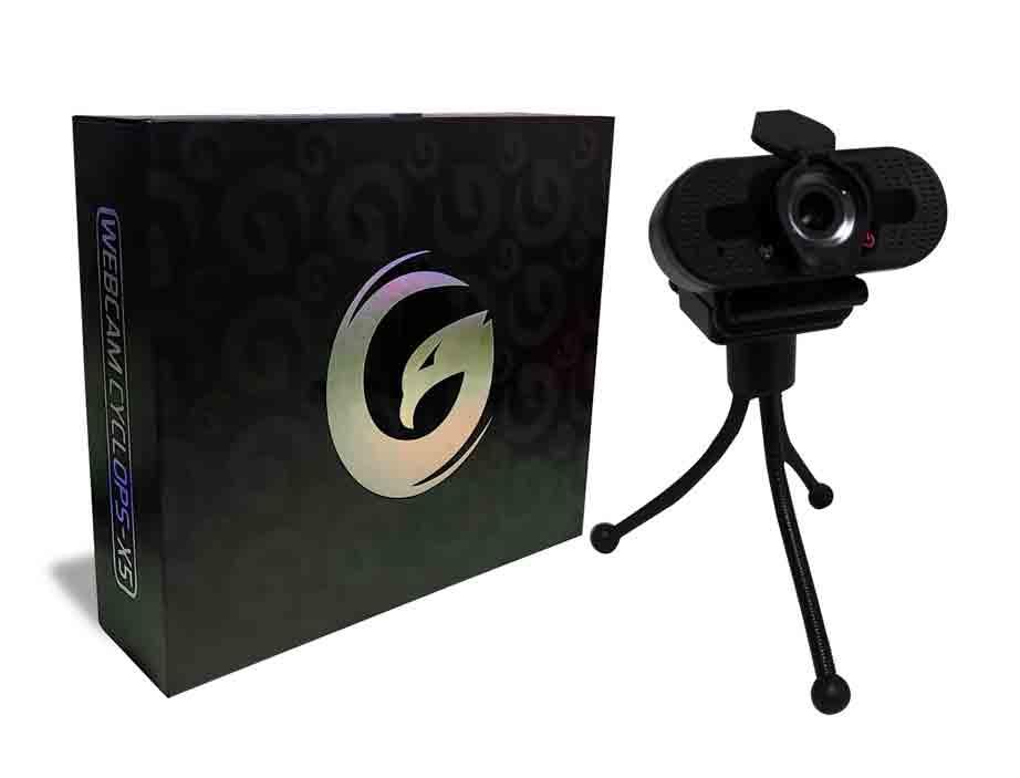 CAMARA WEB GAMBYTE CYCLOPS-X5 ( WEBCAM CYCLOPS-X5 ) 1080P HD