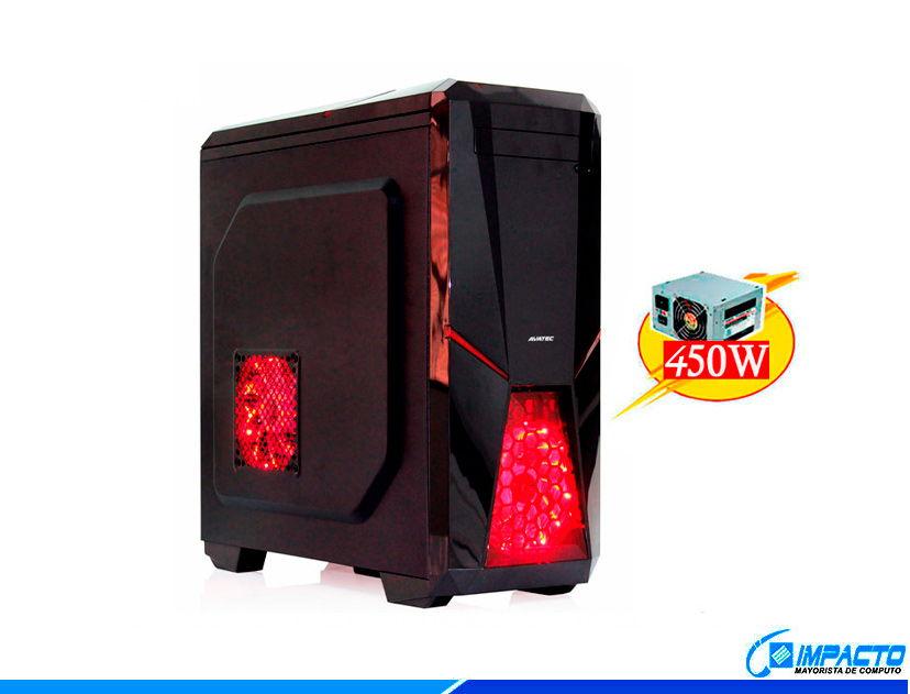 CASE AVATEC CERTIFICADO ( CCA-4111BR ) 450W