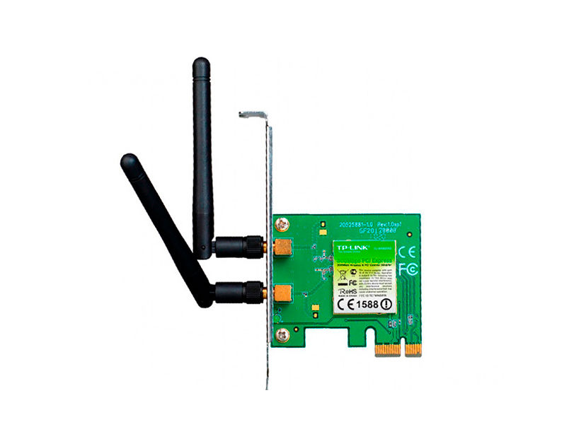 ADAPTADOR PCI EXPRESS INALAMBRICO TP-LINK ( TL-WN881ND ) 300 MBPS