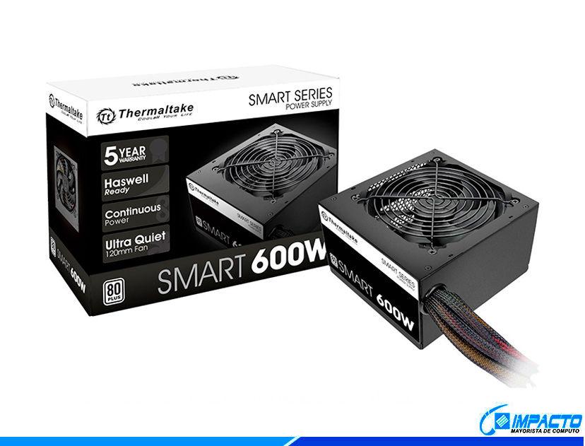 FUENTE THERMALTAKE SMART ( SPD-0600P ) 600W