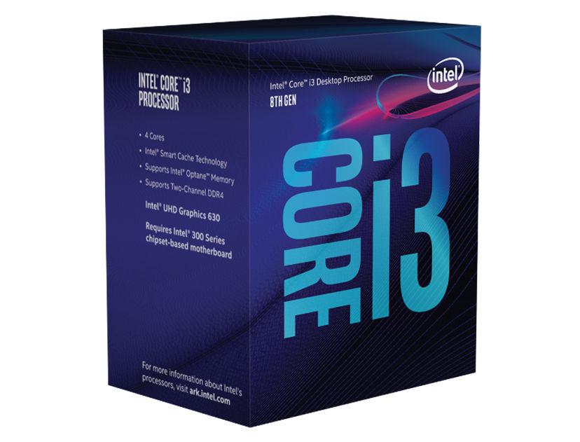 PROC. INTEL CORE I3 8100 ( BX80684I38100 ) 3.6GHZ-6.0MB | LGA 1151