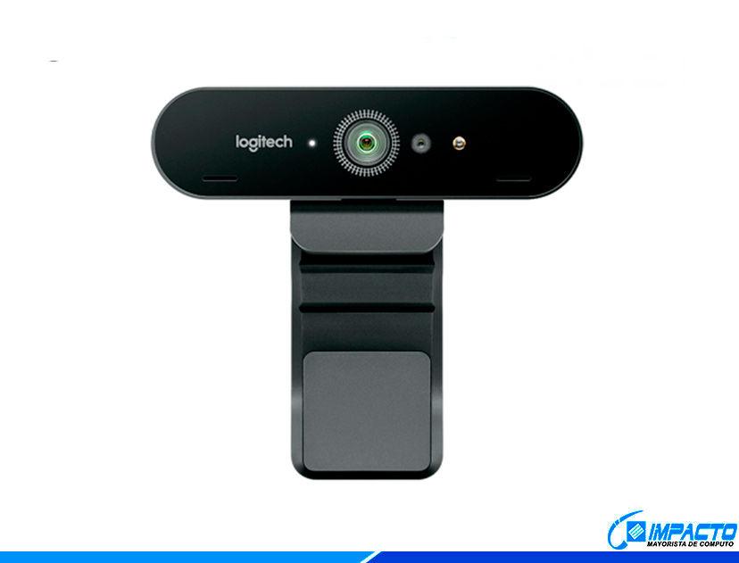 CAMARA WEB LOGITECH BRIO ( 960-001105 ) 1080P HD | 4K ULTRA
