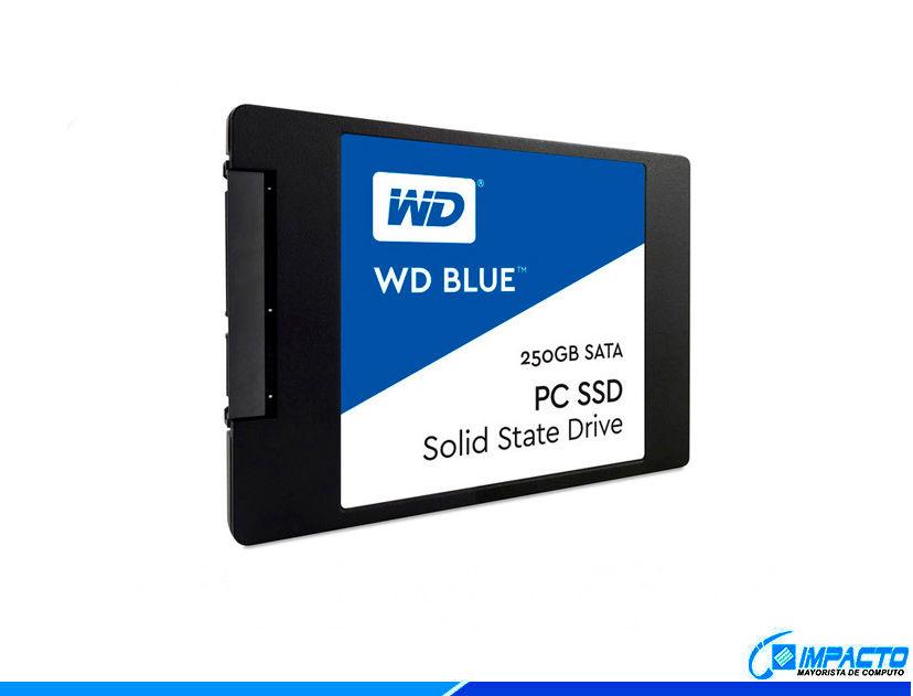 SSD SOLIDO WESTERN DIGITAL 250GB ( WDS250G2B0A-00SM50 ) AZUL