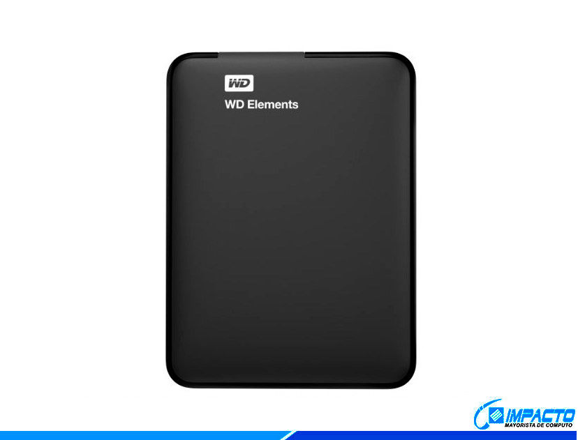 HDD  EXTERNO WESTER DIGITAL 2TB ELEMENTS ( WDBU6Y0020BBK-0B )