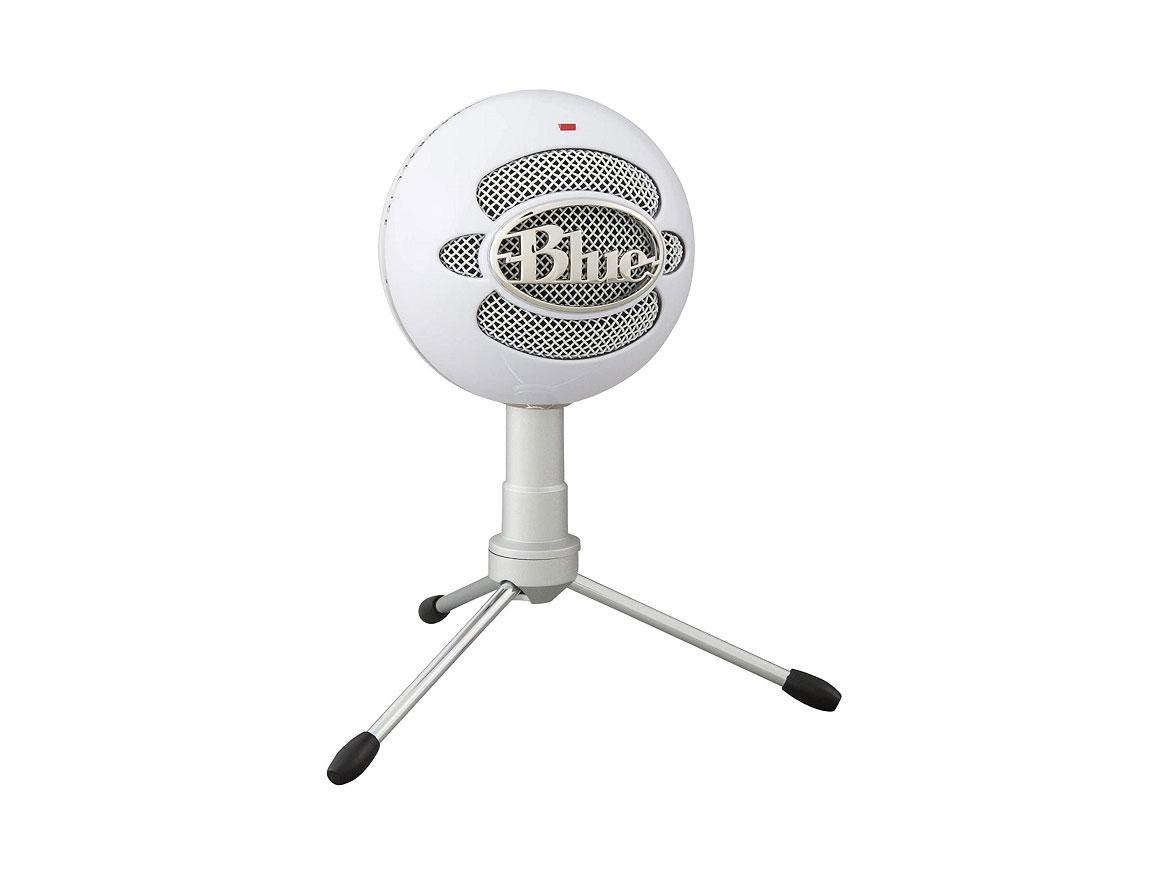 MICROFONO BLUE SNOWBALL ICE WHITE ( 988-000070 ) USB