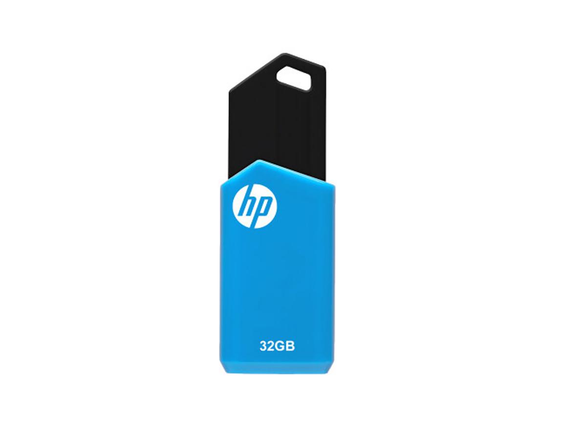 MEM. USB HP V150W 32GB ( HPFD150W-32 ) AZUL C/ NEGRO