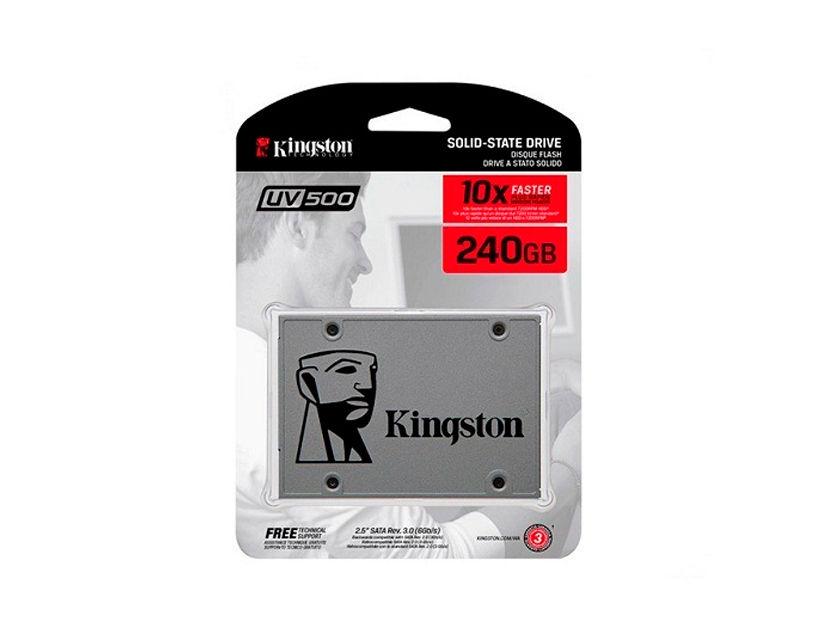 SSD SOLIDO KINGSTON 240GB ( SUV500/240G ) BLISTER