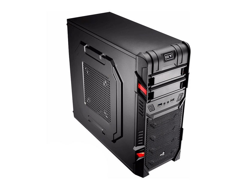 CASE AEROCOOL GT ADVANCE ( 2210-17090105 ) 450W | NEGRO | LED- ROJO