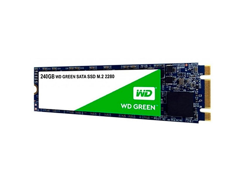 SSD M.2 SOLIDO WESTER DIGITAL 2280 240GB ( WDS240G2G0B ) VERDE | 80MM