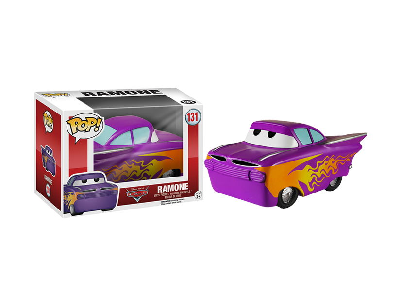 MUÑECO ANIME FUNKO POP CARS RAMONE ( 131 )