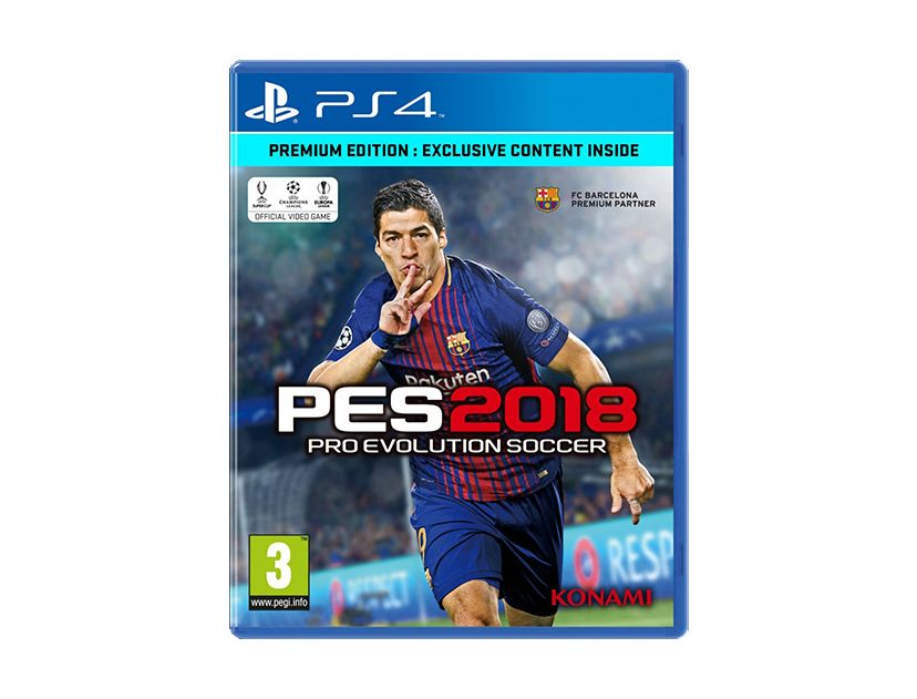 VIDEOJUEGO PLAYSTATION PS4 PES2018 PRO EVOLUTION ( 083717203193 ) SOCCER PREMIUM EDITION