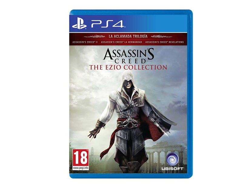 VIDEOJUEGO PLAYSTATION PS4 ASSASSINS CREED THE EZIO COLLECTION ( 887256024284 )