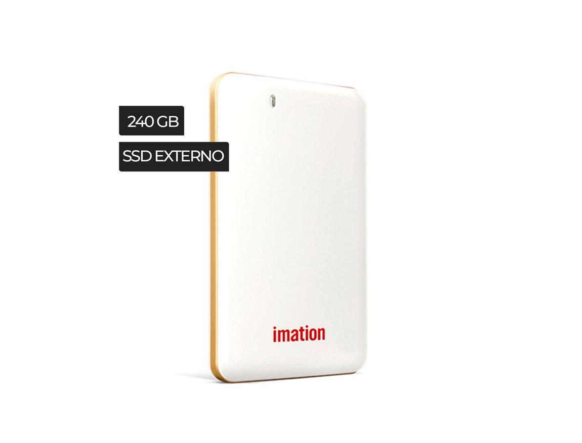 SSD EXTERNO IMATION 240GB EXPRESS PRO ( IM240GPSDV01C1N2B ) BLANCO