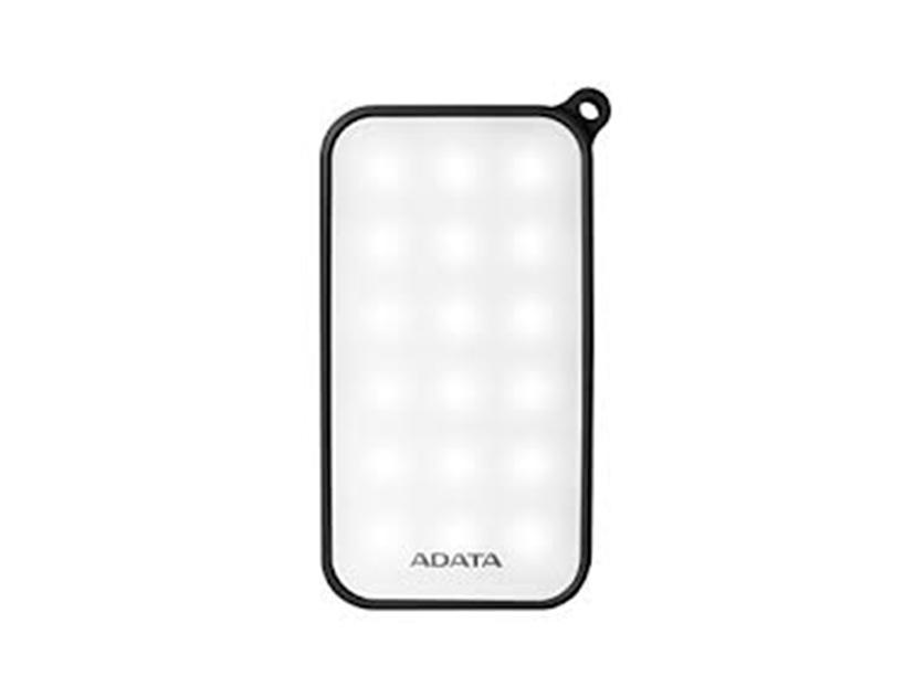BATERIA PORTABLE POWER BANK ADATA D8000L ( AD8000L-3K-5V-CBK ) NEGRO | 8000MAH | LED- BLANCA