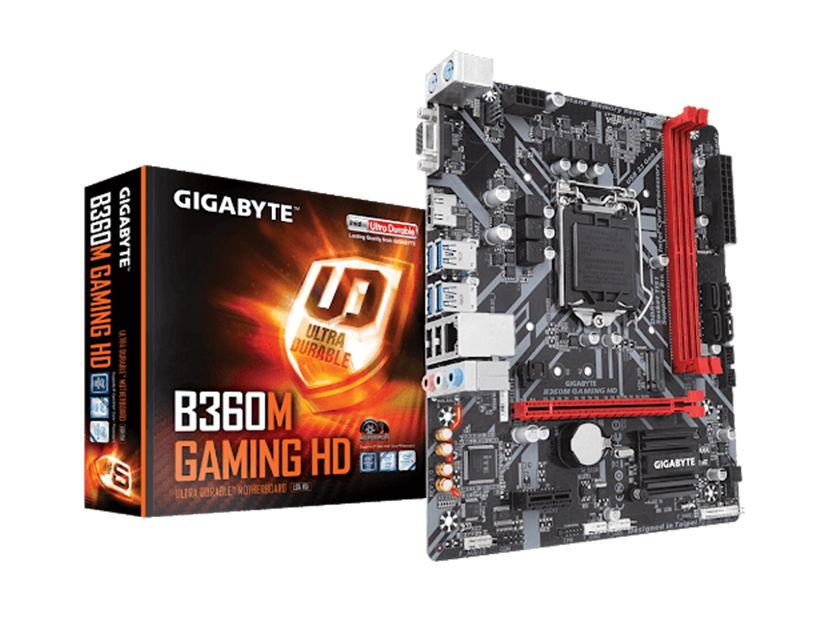 MB GIGABYTE B360M GAMING HD ( B360M GAMING HD ) LGA 1151