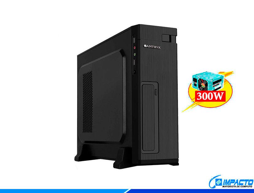 CASE MINI ANTRYX EXTREME XS-100 ( AC-XS100BC ) 300W | NEGRO