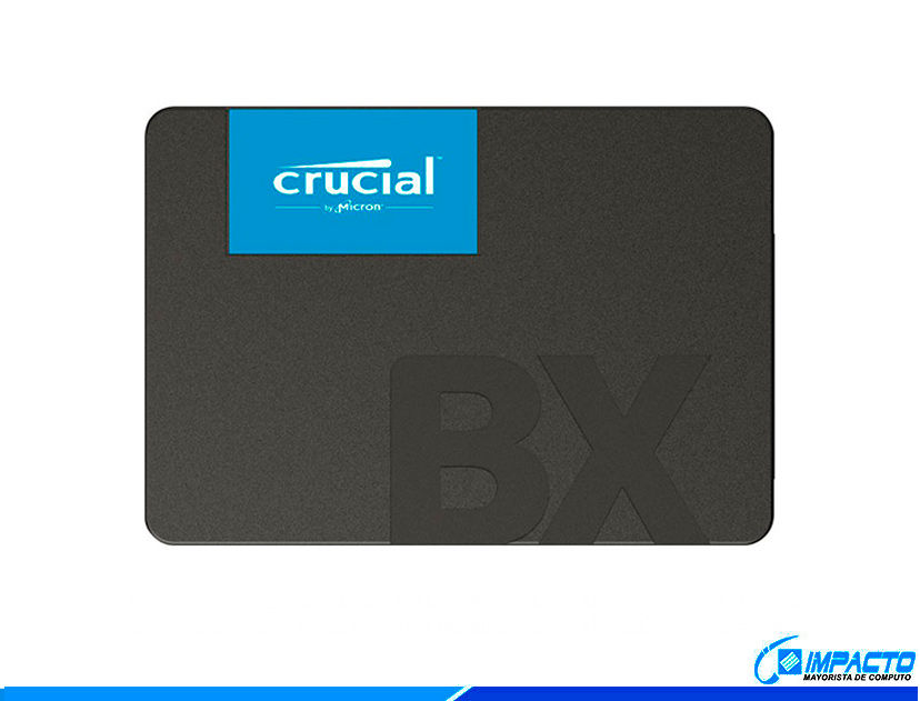 SSD SOLIDO CRUCIAL 480GB ( BX500 ) CAJA