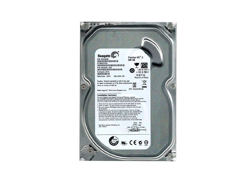 HDD  SEAGATE 500GB ( ST3500414CS ) PULL | 16MB | 5900RPM