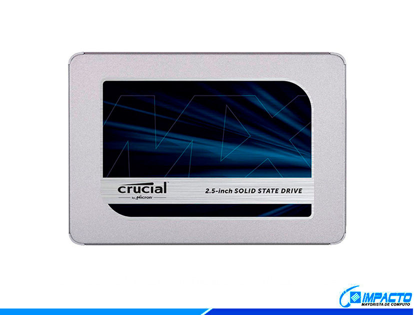 SSD SOLIDO CRUCIAL MX500 1TB ( CT1000MX500SSD1 )