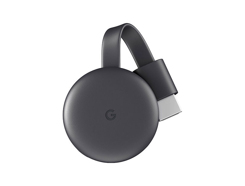 CHROMECAST GOOGLE ( GA00439-US ) NEGRO | HDMI | WI-FI | TRASMISOR REPLICA SEÑAL DE VIDEO