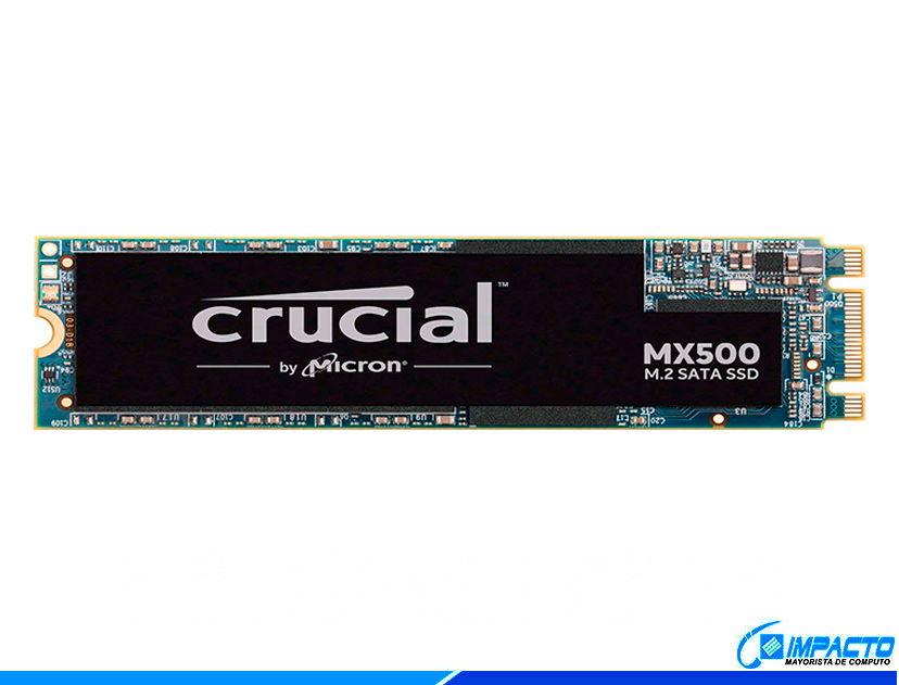 SSD  M.2 SOLIDO CRUCIAL MX500 500GB ( CT500MX500SSD4 ) 80MM