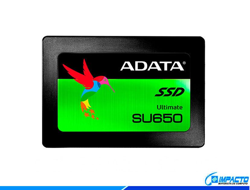 SSD SOLIDO ADATA SU650 480GB ( ASU650SS-480GT-R )