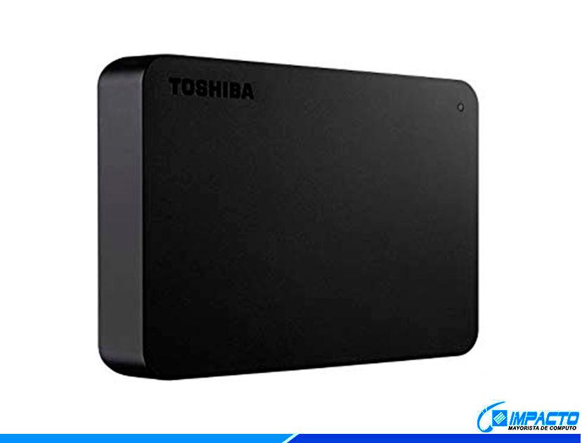 HDD  EXTERNO TOSHIBA 4TB ( HDTB440XK3CA ) CANVIO BASICS | NEGRO