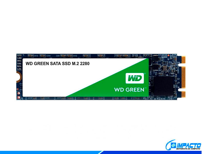 SSD  M.2 SOLIDO WESTER DIGITAL 2280 480GB ( WDS480G2G0B ) VERDE | 80MM