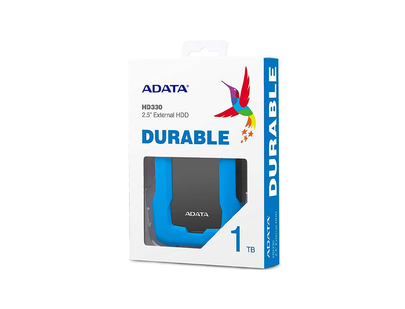 HDD  EXTERNO ADATA 1TB HD330 ( AHD330-1TU31-CBL ) AZUL | ANTI GOLPE