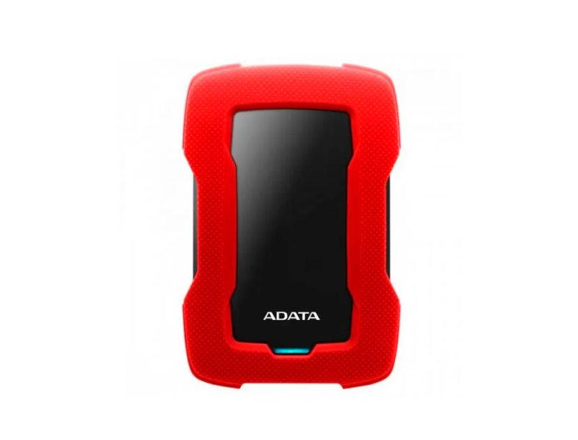 HDD  EXTERNO ADATA 1TB HD330 ( AHD330-1TU31-CRD ) ROJO | ANTI GOLPE