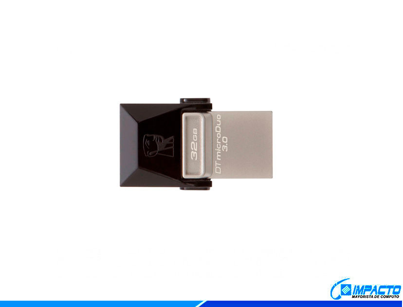 MEM. USB + MICRO.USB KINGSTON 32 GB ( DTDU03C/32GB ) 3.0 | 3.1  | TIPO C |