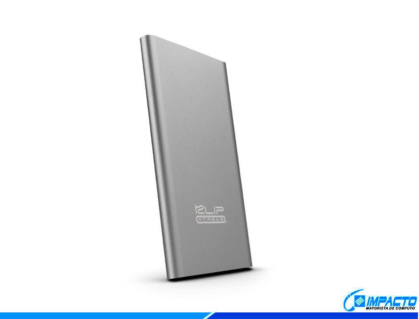 BATERIA PORTABLE KLIP POWERBANK ENOX8000 ( KBH-175SV ) GRIS   8000MAH