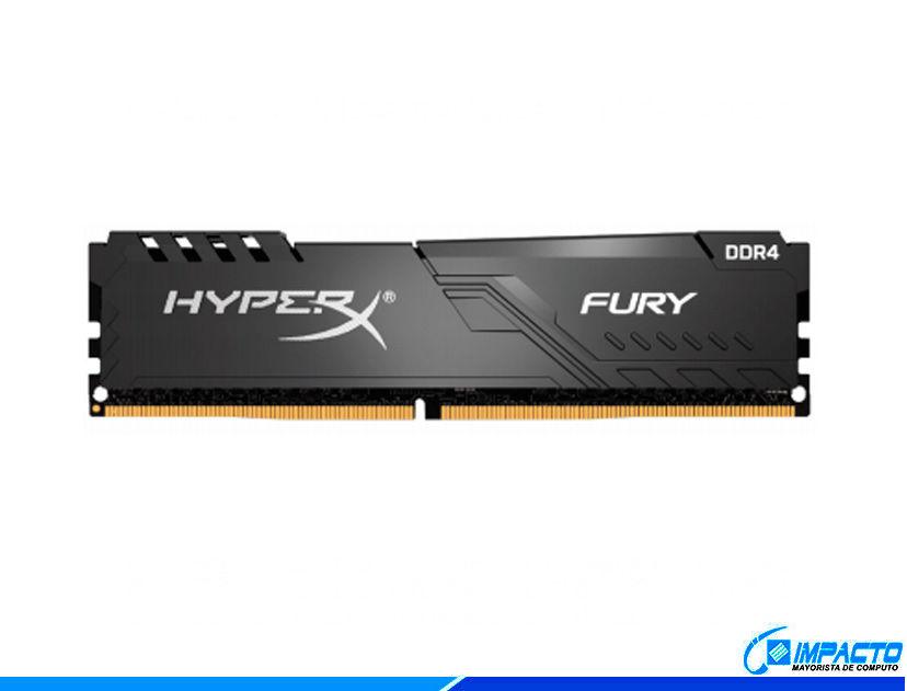 MEM. RAM HYPERX FURY DDR4 4GB/2666 ( HX426C16FB3/4 ) NEGRO