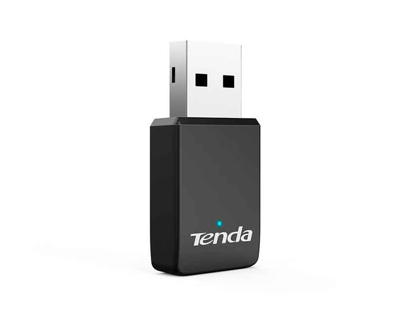 ADAPTADOR USB INALAMBRICO TENDA AC650 WIRELESS DUAL BAND ( U9 ) 433MBPS