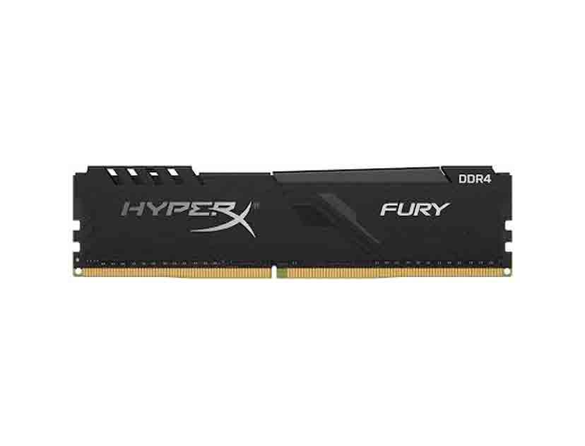 MEM. RAM HYPERX FURY DDR4 32GB/2666 ( HX426C16FB3/32 ) NEGRO