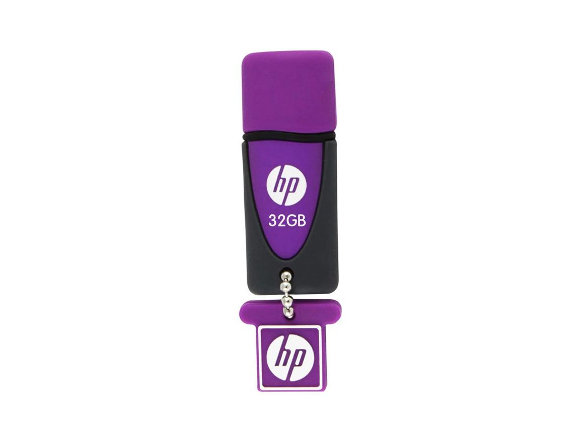 MEM. USB HP V245L 32GB ( HPFD245L-32 ) PURPURA C/ NEGRO
