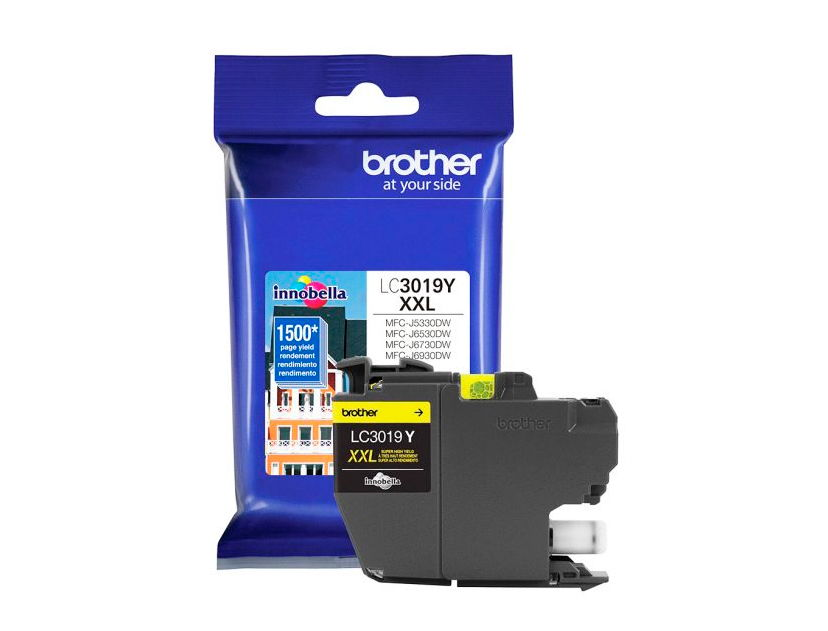 CARTUCHO BROTHER 3019Y  ( LC3019Y ) AMARILLO | MFCJ5330DW | MFCJ6730DW +