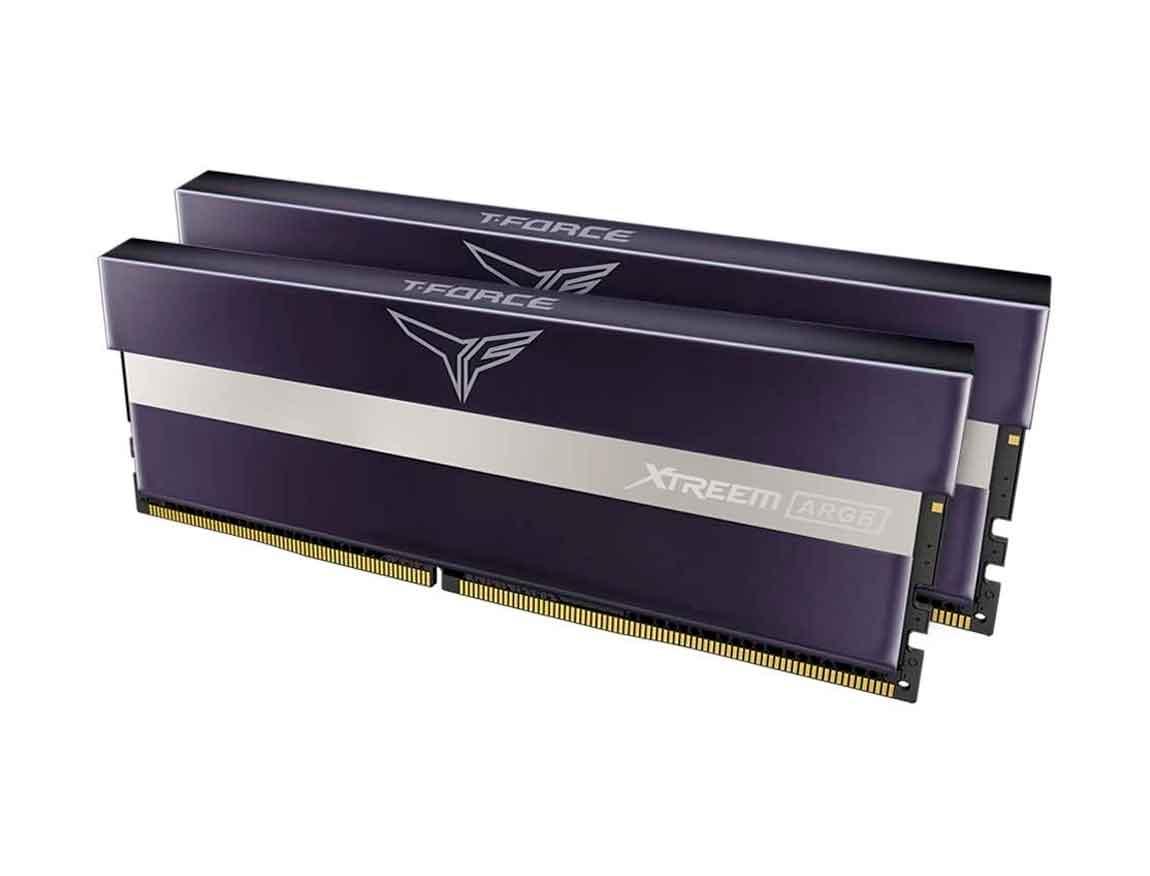 MEM. RAM TEAMGROUP T-FORCE XTREME ARGB DDR4 16GB(2X8)/3200 ( TF10D416G3200HC14BD